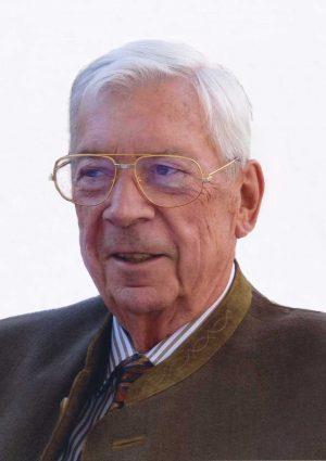 Portrait von Komm.- Rat Otto Derflinger