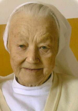 Portrait von Sr. M. Reingard – Maria Hauzinger