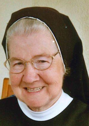 Portrait von Sr. M. Ernestine (Anna Söllner)