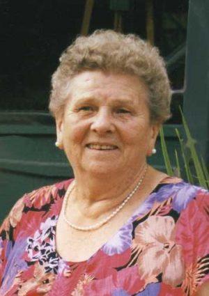 Portrait von Josefa Stieglbauer, geb. Lothring